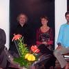 Nos formateurs de l'Ecole Etre en Therapie Transpersonelle de gauche à droite: Catherine Bordel, Eirik Balavoine, Judee Gee, Laurent Biville