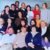 Le premier groupe de pionniers formé en Rebrithing par Diana Roberts et Ronald Fuchs. Photo de 1999.
