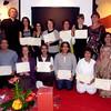 Fin de formation et remise de dipômes de Therapie Transpersonnel à Tahanaout, Maroc, Octobre 2010.