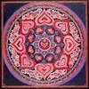 Mandalas des coeurs