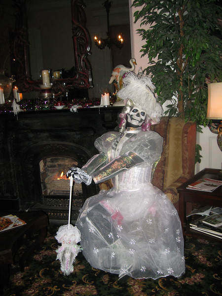 The completed Victorian Ghost. I heard the client won several costume awards for this. Its a beautiful concept.