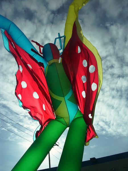 """A """"Vejigantes""""- A mythic character commisioned for Brazilian Carnival."""