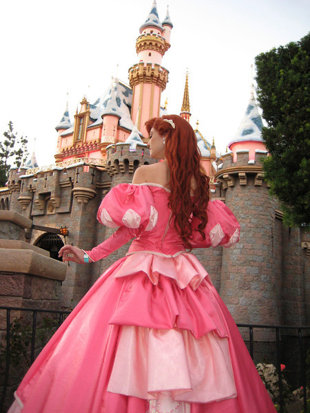 Back view of the Ariel gown.
