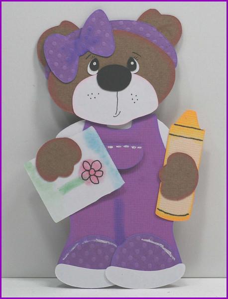 School Girl Bear