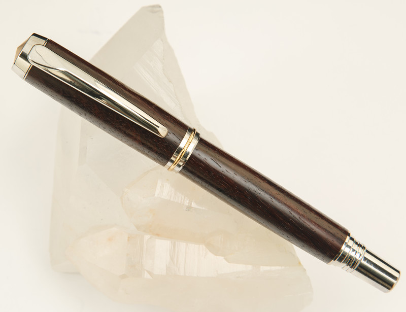 Jr. Gentleman's II Rollerball in Rhodium/Gold