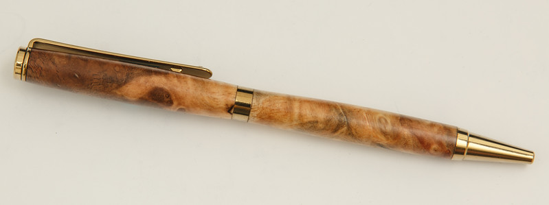 Slimline in Bastogne Walnut Burl