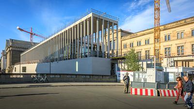 Umbau, September 2017, Pergamonmuseum Berlin