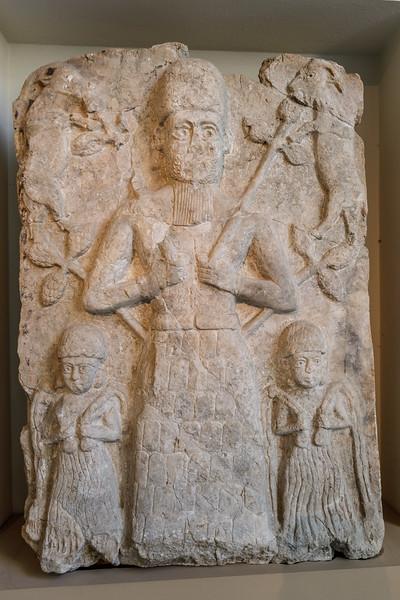 Kultrelief, Assur, Pergamonmuseum Berlin
