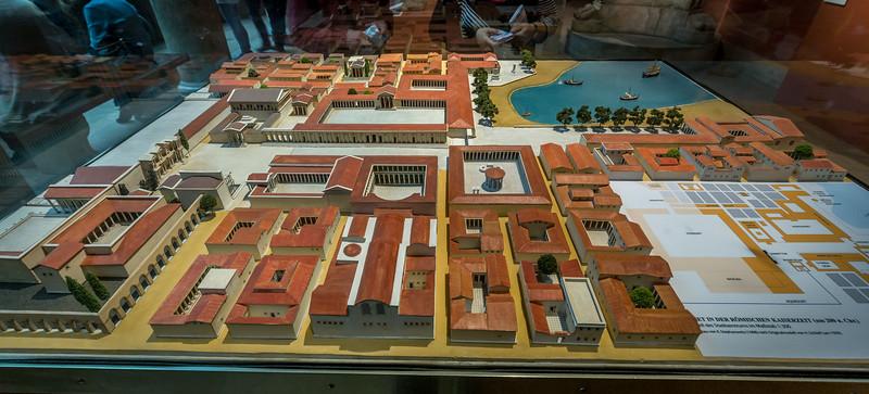 Modell des Stadtzentrums von Milet, Pergamonmuseum Berlin