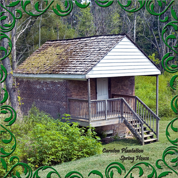 Spring House at the Carnton Plantation, Franklin, Tennessee