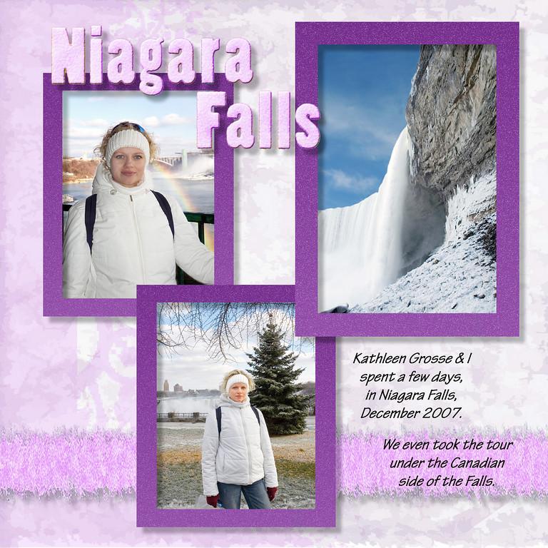 Niagara Falls, December 2007