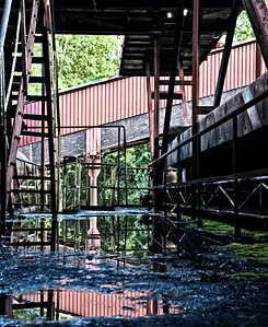 Abandoned coking plant in Germany. The government uses it as a tourist/educational site.