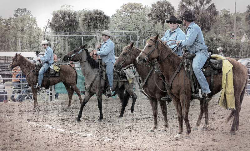 Roping contestants from Seminole County, Central Florida Fair, 2012