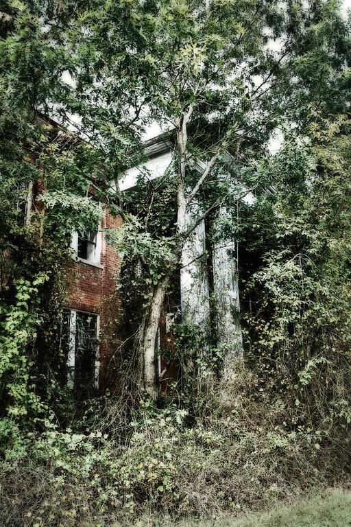 Abandoned school in Warrenton, NC