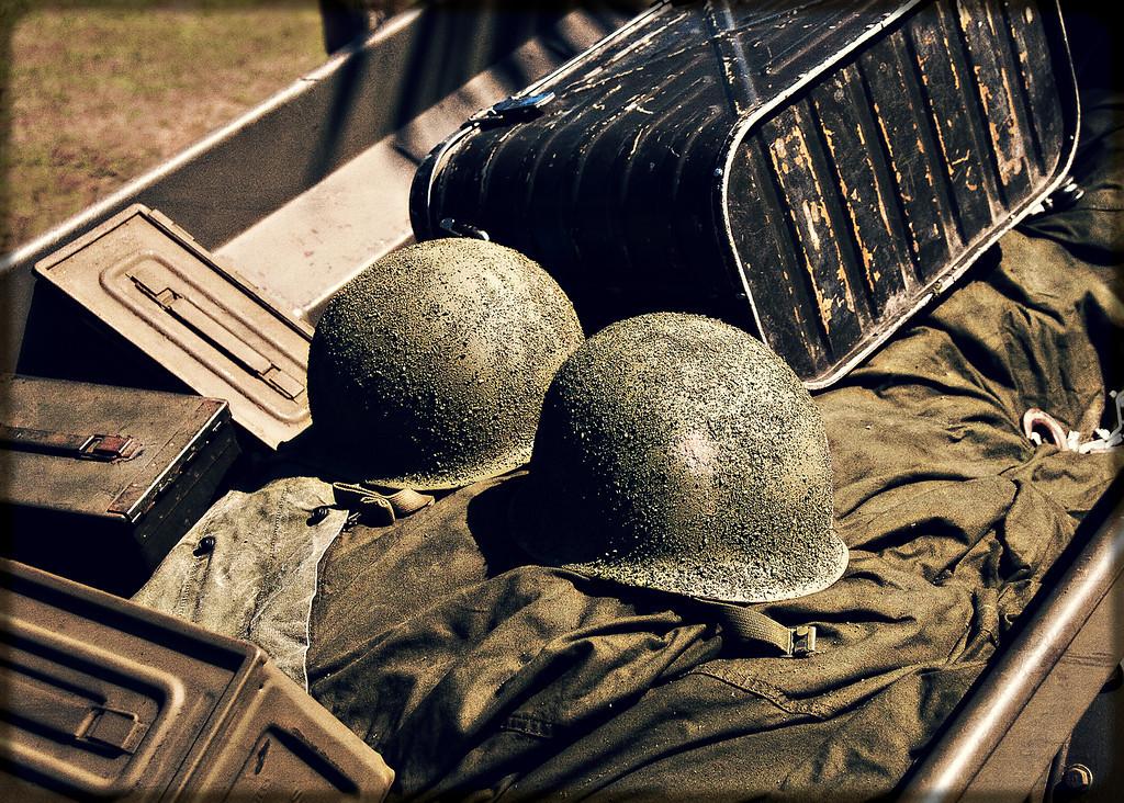 World War II reinactment, Ft. DeSoto Park