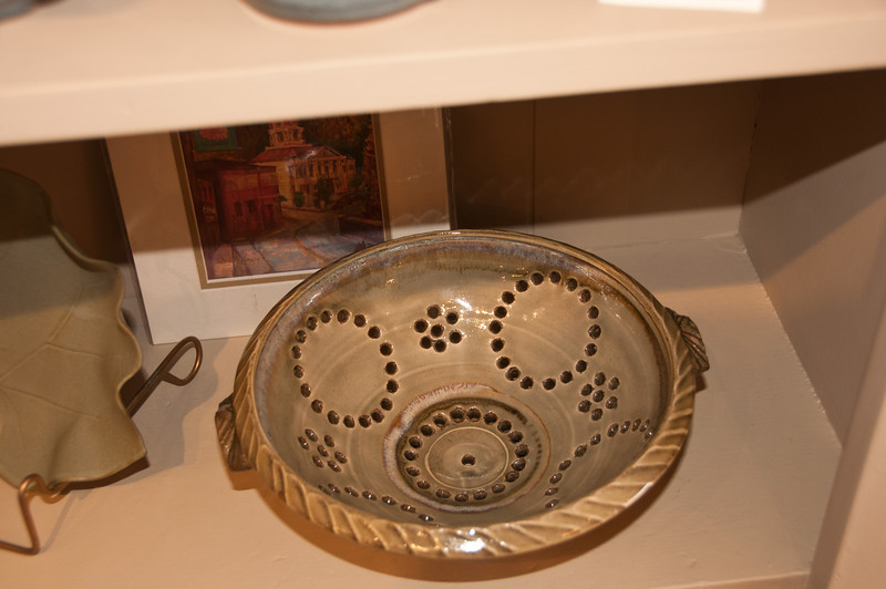 Loved this colander pattern