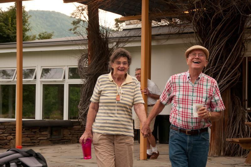 June and Harold the true love birds of Penland