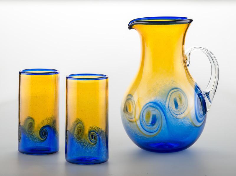ab_blue_gold_pitcher_set