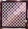 White and Purple Ribbons<br /> Queen Size<br /> March 2004<br /> On show at Northern Virginia Quilters Guild June 2004
