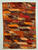 Orange Waves<br /> Wallhanging<br /> July 2004