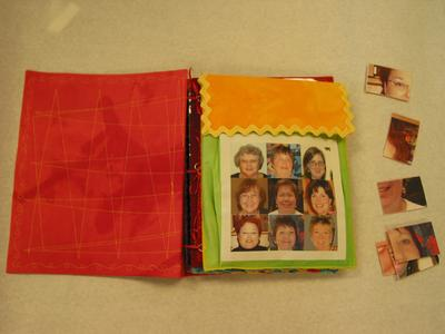 pocket to hold cover puzzle pieces