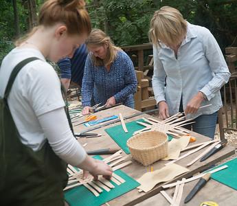 Sept 2018 - Ash Basket Weaving