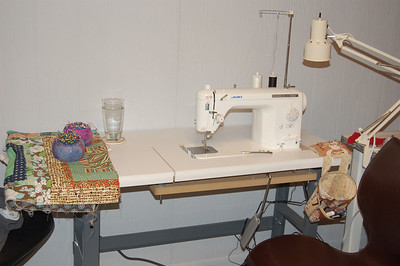 Sewing Machines and Studio Bits