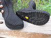 Vibram Kletterlift soling, with thick cushi midsole.