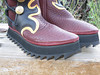 Platform Boots - One inch Cloud Midsole (cushi), with the Ripple Soling.