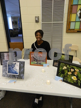 Qunetta Wilkins with spiritual visions