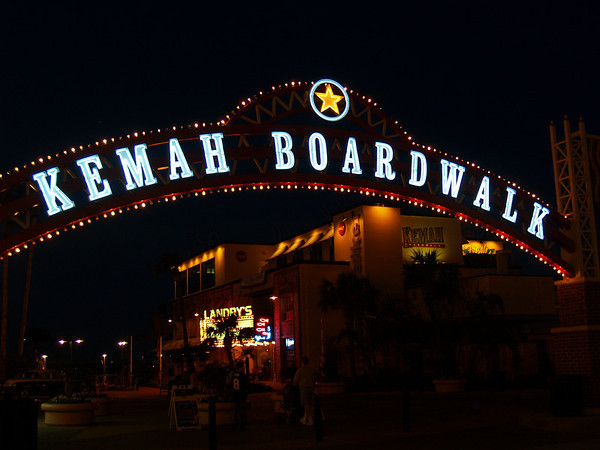 Kemah Boardwalk, near Seabrook TX