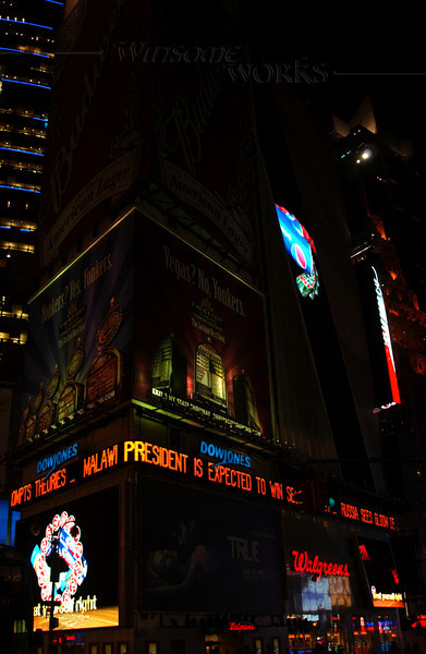 Times Square, Manhattan NY