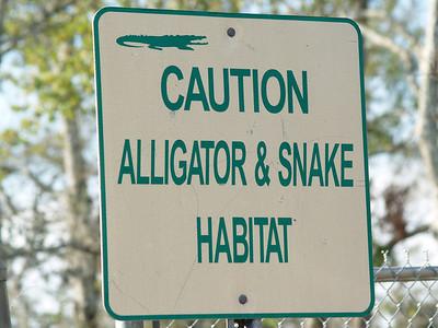 Sign near Galveston Bay, TX