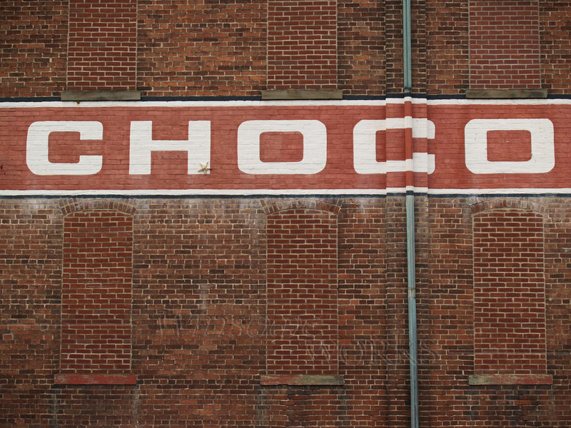 Sign at Wilbur Chocolate Co., Lititz, PA