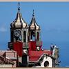 Twin bell towers of the Iglesia de la Concepción in La Orotava<br /> © Canarybird 2009