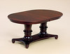 Double Pedestal Woodbury Table