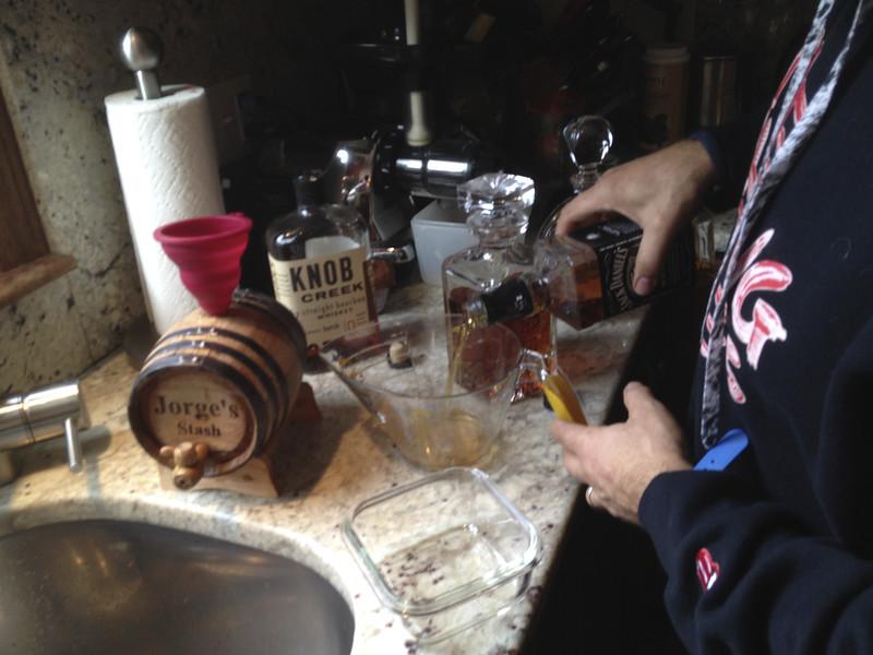 Now we grab some Kentucky Marsh Whiskey...