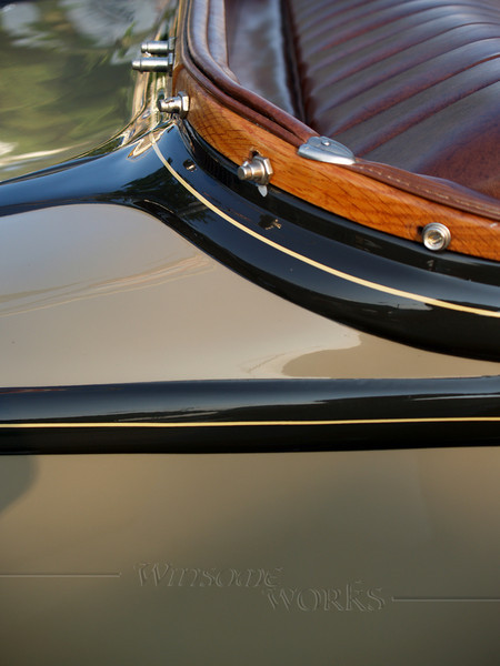 1930 Ford Roadster Rear Detail