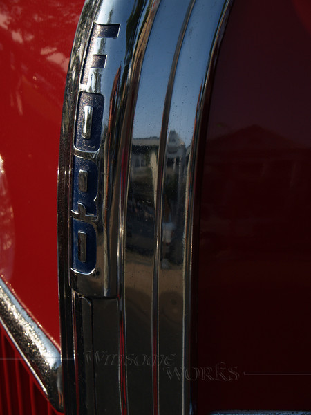 1941 Ford Flatbed Detail