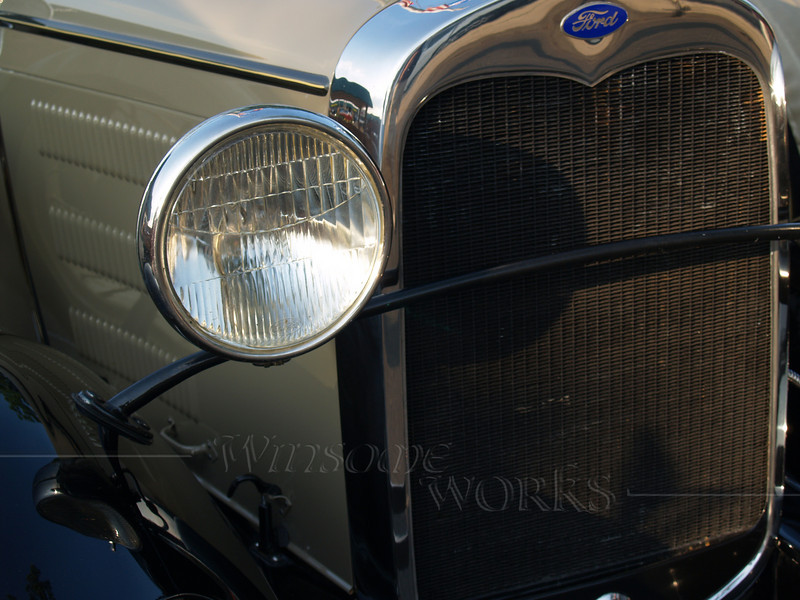 1930 Ford Roadster Front End