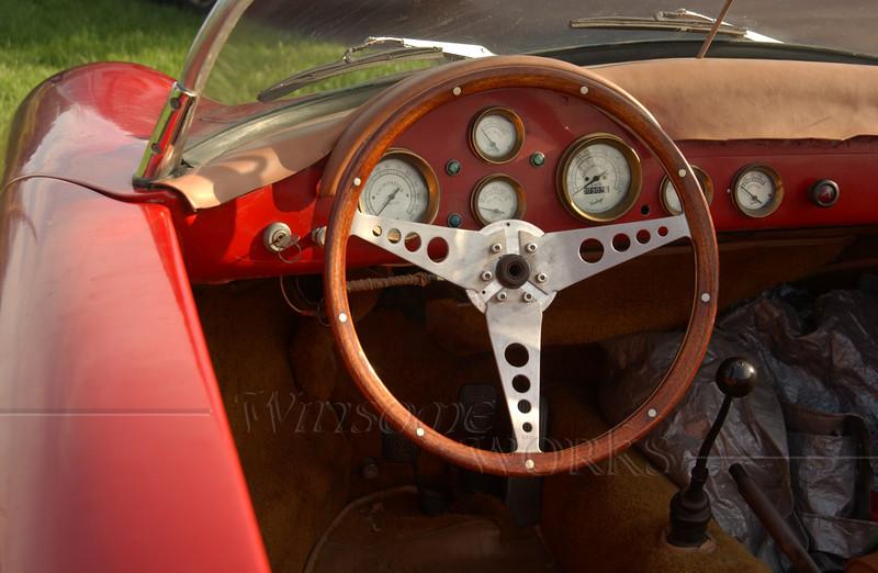 Porsche dash and side