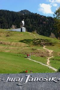 STATUE OF JURAJ JÁNOŠÍK, LOW FATRA, SLOVAKIA