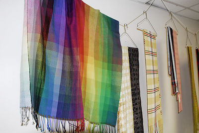 Woven works of Guild members