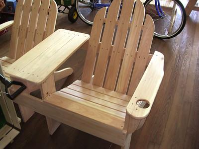 Wood Benches at Pierce