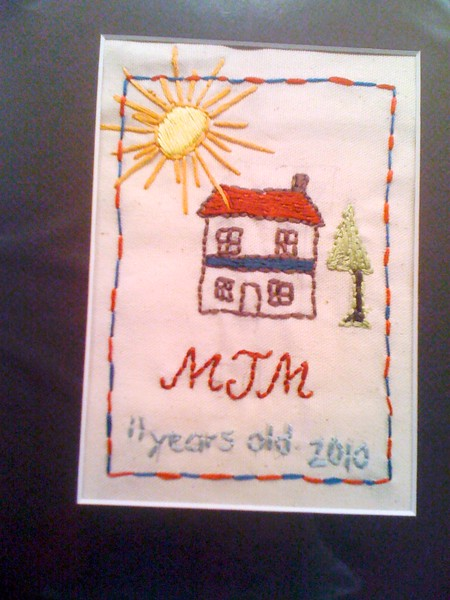 5th Grade Embroidery
