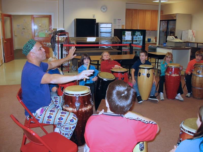 4th Grade Drumming