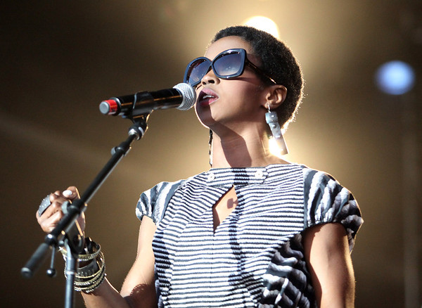 Ms. Lauryn Hill is seen here performing at the RBC Royal Bank Bluesfest in Ottawa on Tuesday, July 10, 2012. The Ottawa Bluesfest is ranked as one of the most successful music events in North America. The Canadian Press Images PHOTO/Ottawa Bluesfest/Patrick Doyle.