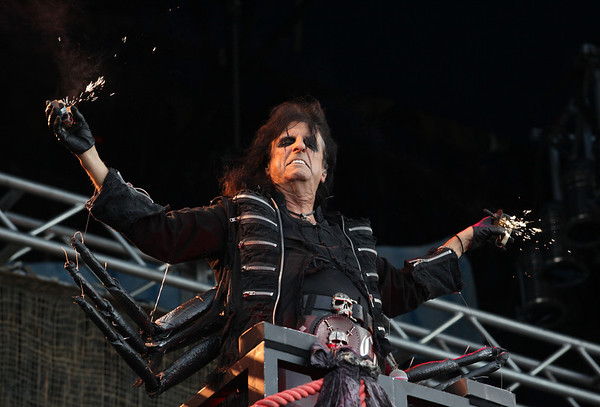 Alice Cooper is seen here performing at the RBC Royal Bank Bluesfest in Ottawa on Saturday, July 7, 2012. The Ottawa Bluesfest is ranked as one of the most successful music events in North America. The Canadian Press Images PHOTO/Ottawa Bluesfest/Patrick Doyle.