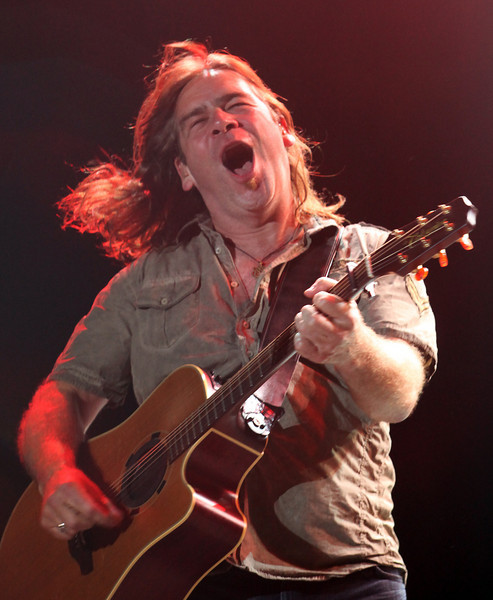 Alan Doyle of the band Great Big Sea performs at the Cisco Ottawa Bluesfest on Friday, July 16, 2010. The Ottawa Bluesfest is ranked as one of the most successful music events in North America. The Canadian Press Images PHOTO/Ottawa Bluesfest/Patrick Doyle.