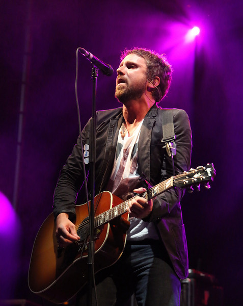 Colin MacDonald of the band The Trews is seen here performing at the RBC Royal Bank Bluesfest in Ottawa on Sunday, July 15, 2012. The Ottawa Bluesfest is ranked as one of the most successful music events in North America. The Canadian Press Images PHOTO/Ottawa Bluesfest/Patrick Doyle.